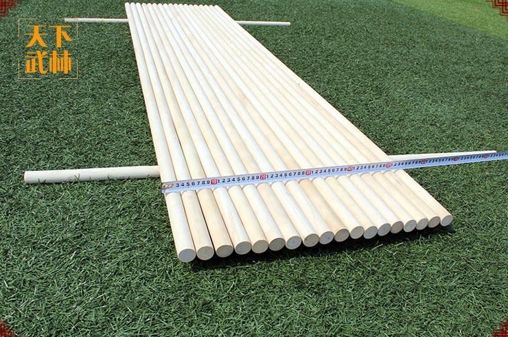 Straight Staff (Bô, Jyo and others) - Wax Wood