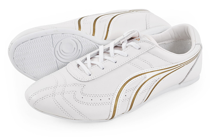 Chaussures Wushu Dowin, Blanches 34 abimées