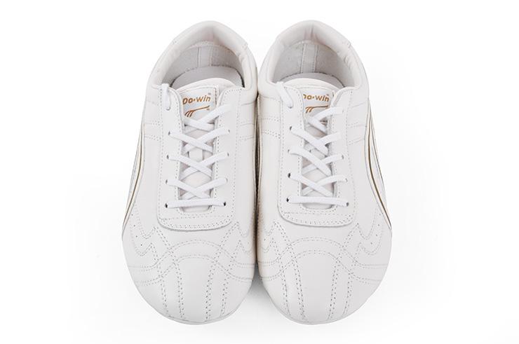 Zapatos Wushu Dowin, Blanches deteriorada