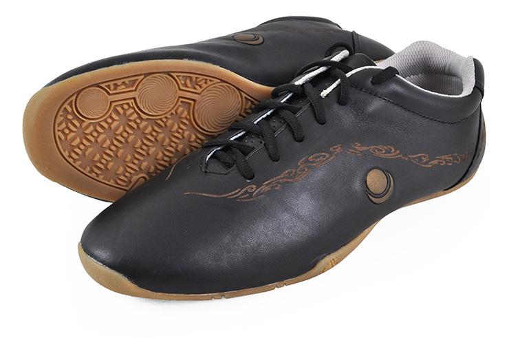 Zapatos kung-fu HuaJin, Negro y Oro