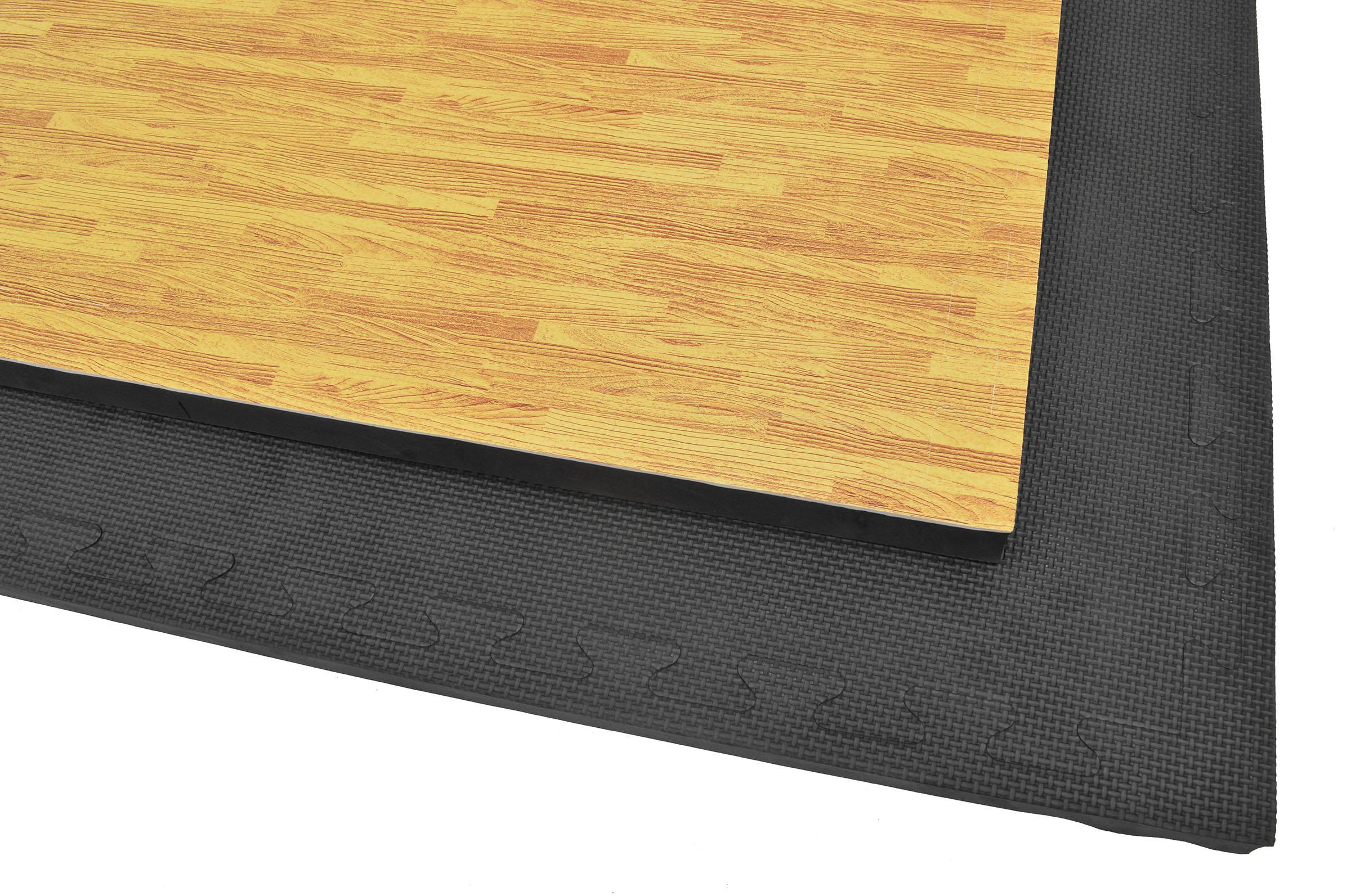 Puzzle mat 3cm wood black - Peinture bois noir mat ...