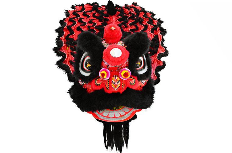 Costume Danse du Lion du Sud Noir/Rouge