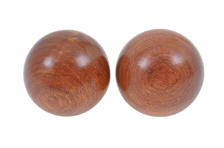 Bolas Qi Gong, Madera
