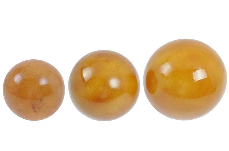 Balle de Tai Ji, Bois Lourd - Ø 22 cm