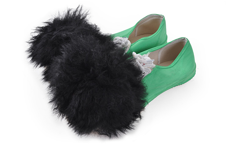[Destock] Chaussons danse du lion verts