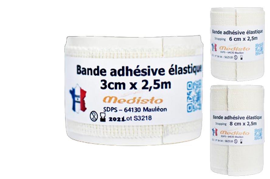 Bande adh sive elastique adh strap - Bande adhesive murale ...