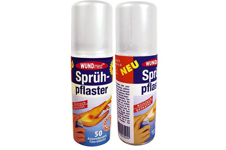 Spray para parar el sangrado