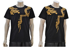 T-shirt Dragon Brodé 1