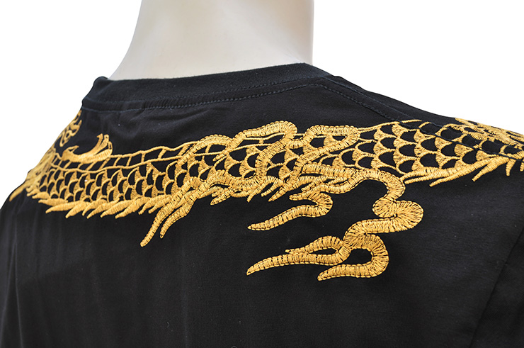 Camiseta Dragón Bordado 1