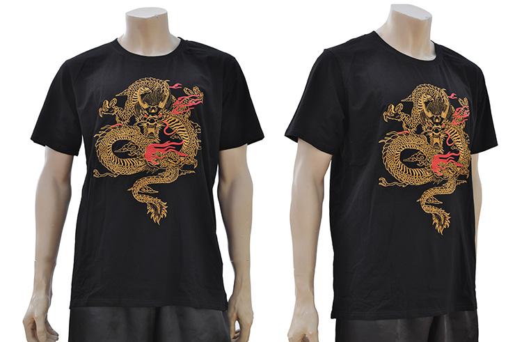 Camiseta Dragón Bordado 2
