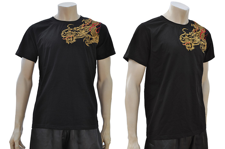 T-shirt Dragon brodé 3