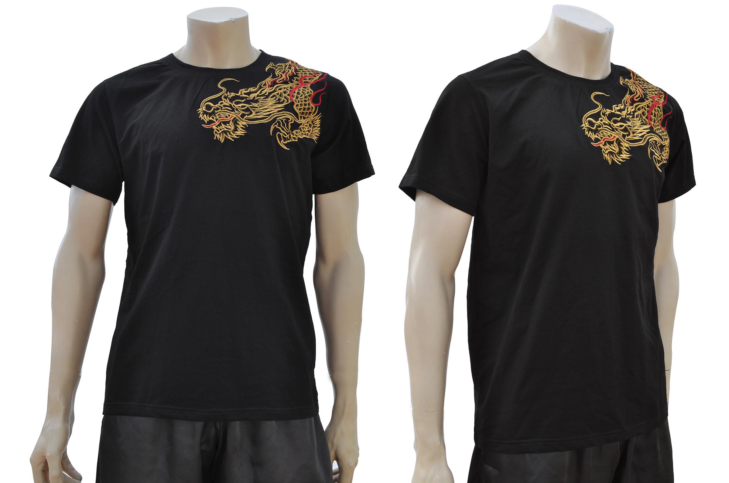 T-shirt Dragon brodé 3