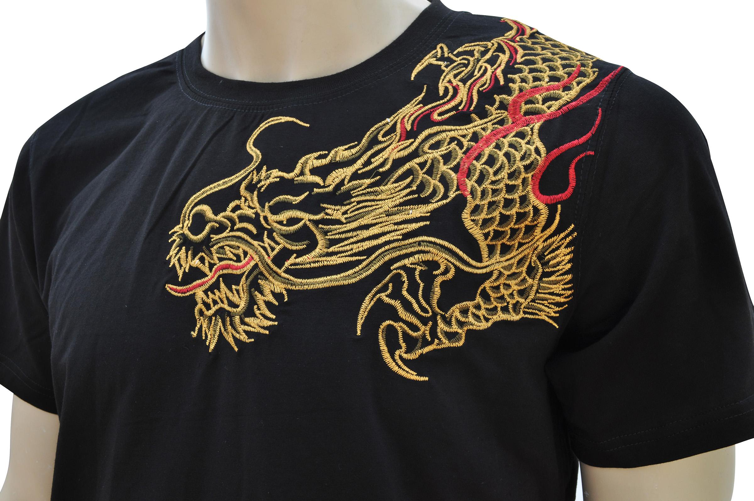 0e4299f47fad9 T-shirt Dragon brodé 3 - DragonSports.eu