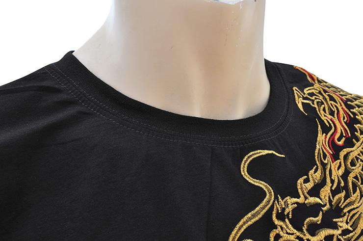 Camiseta Dragón Bordado 3
