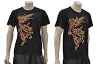 T-shirt Dragon brodé 4