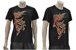 T-shirt Dragon brodé 4