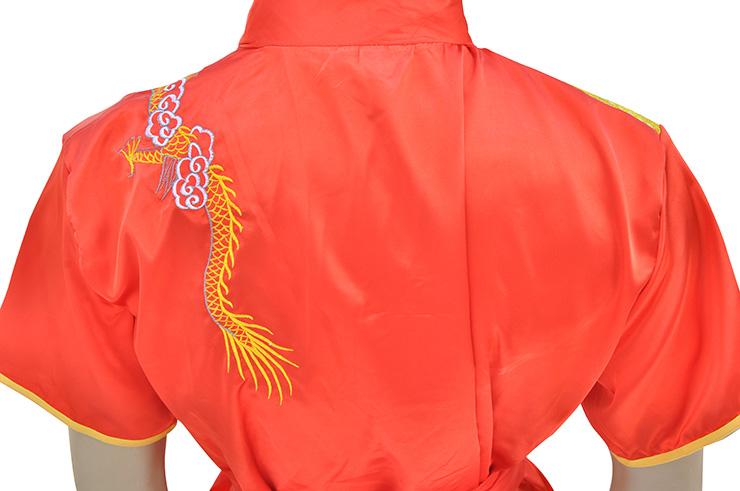 Traje Chang Quan, Satén, Dragón