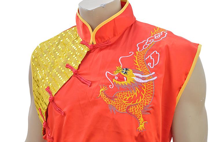Tenue Nan Quan, Satin, Dragon