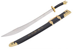 [Destock] Traditional Broadsword, Rigid, Stainless Steel