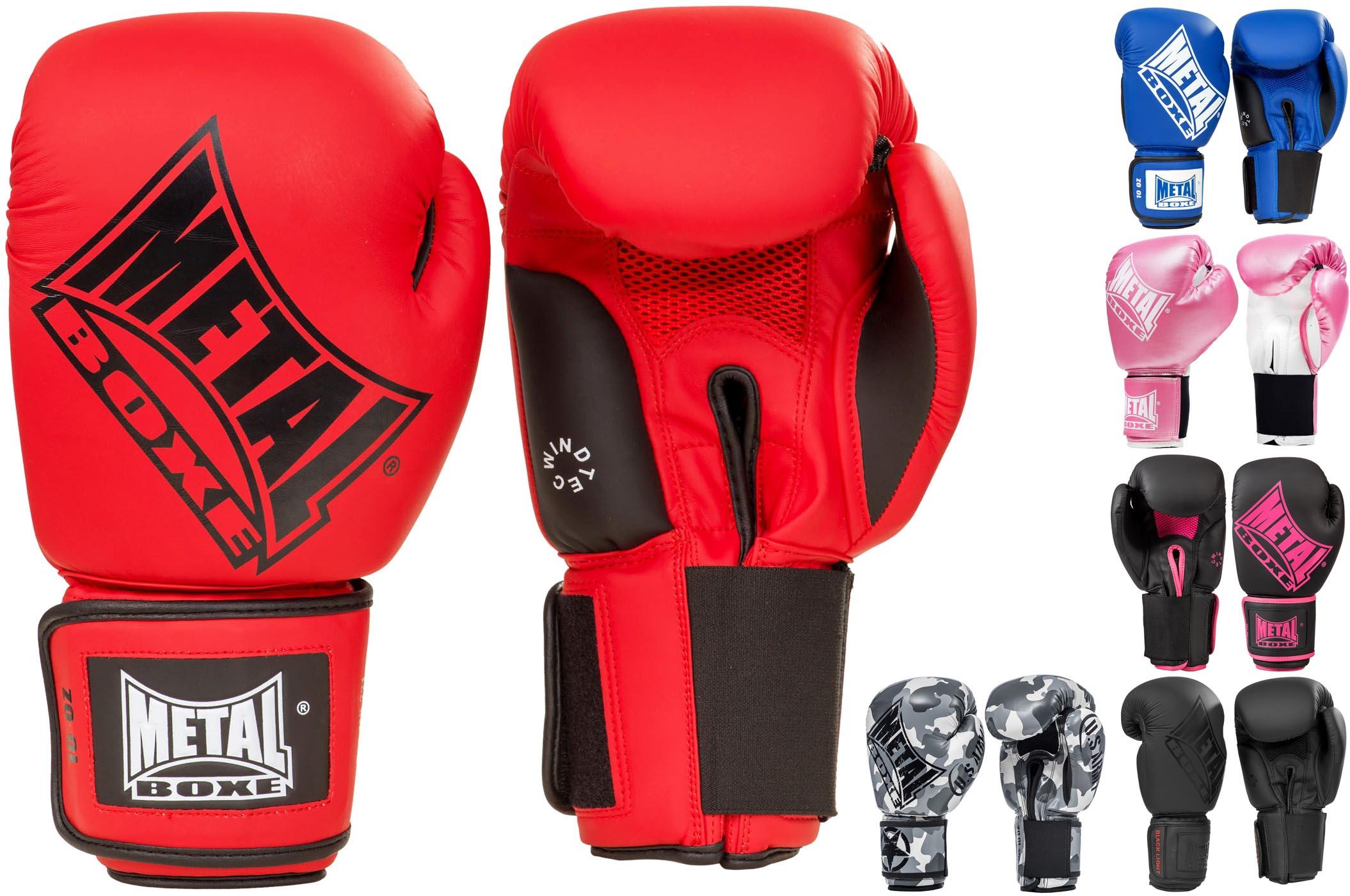 Metal Boxe Guantes de Lucha Libre