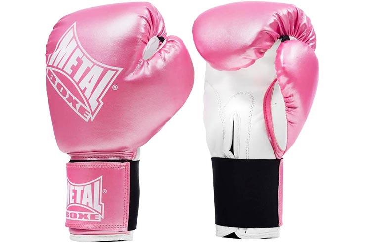 Gants de boxe compétition, Edition classique - MB221, Metal Boxe