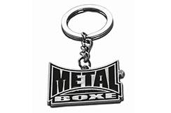 Llavero de Acero Macizo, Metal Boxe