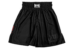 Short boxe anglaise, Black Light - TC68N, Metal Boxe