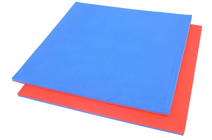 Tatami Puzzle, 2.5cm, Bleu/Rouge