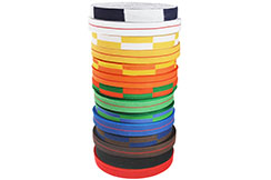 Roll of Belts Judo/Karate, Metal Boxe ROJ/ROK