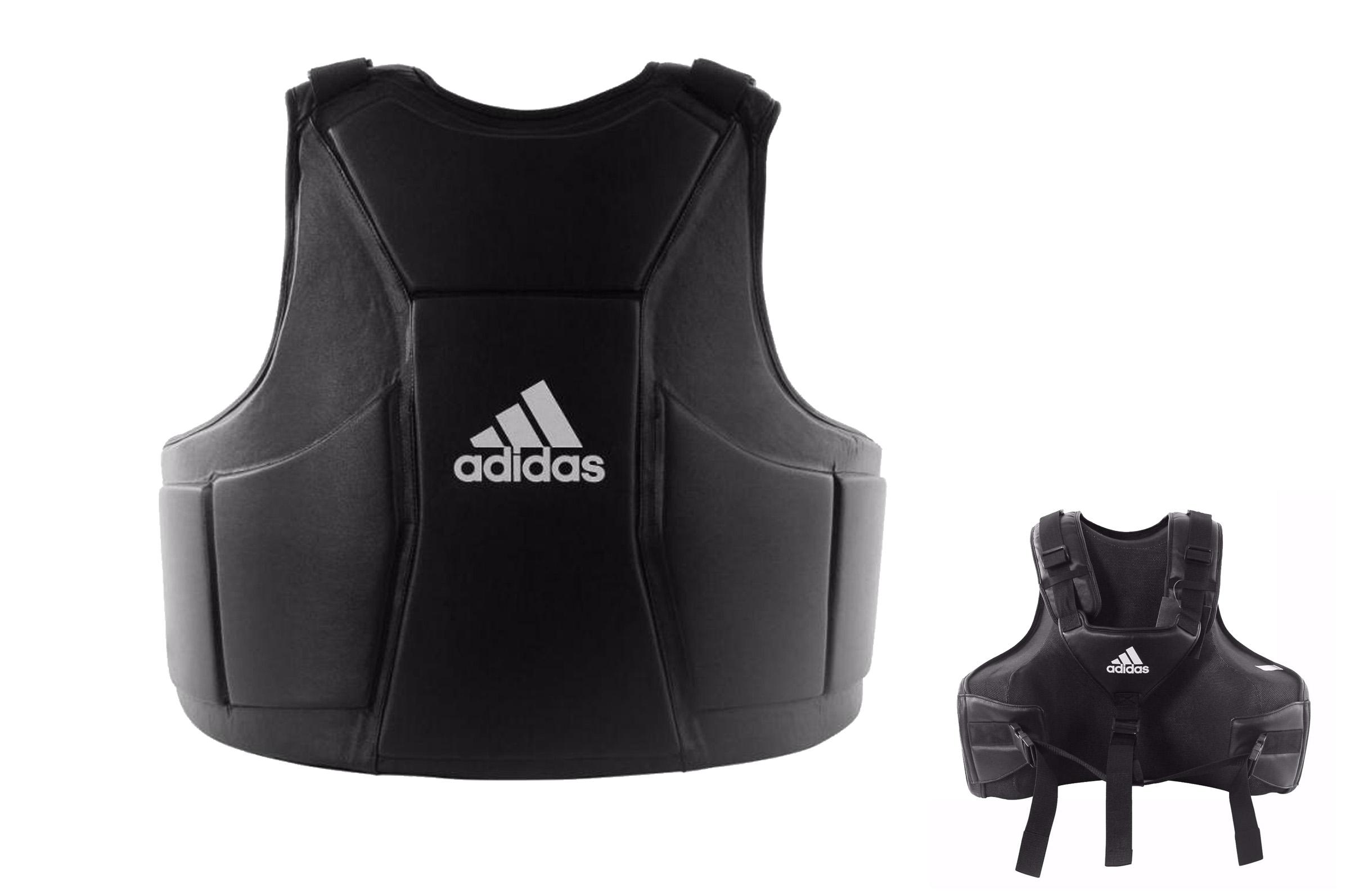 "WKF - Plastron protection Karaté Blanc ""ADIP03"", Adidas"