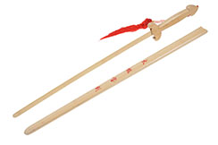 Épée Bois, Fourreau clair