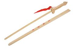 Espada De Madera, Funda Clara