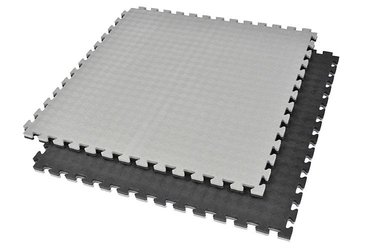 Tatami Rompecabezas, 2.5cm, Negro/Gris