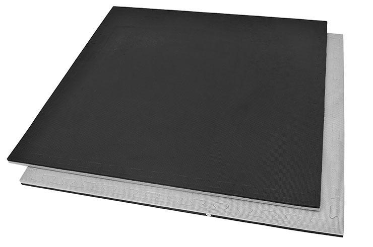 Tatami Rompecabezas, 2cm, Negro/Gris