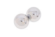 Qi Gong Balls, Acoustic - Stainless Steel