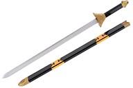 Espada de madera con vaina - monobloque y pintado