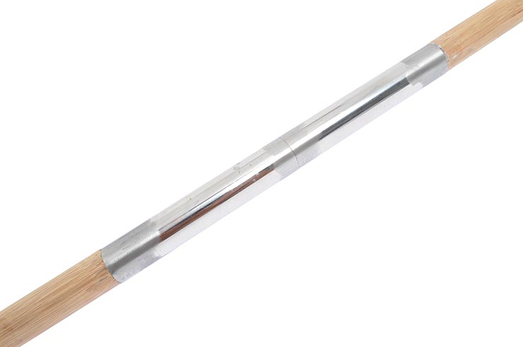 Halberd HaoYue Dragon - Silver/Wood, Stainless Steel