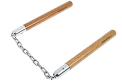 Nunchaku advanced skills - Wood & chain, Kansa