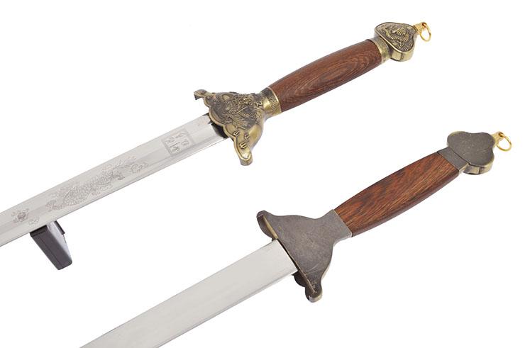 Double Epée Rigide, Jian Wang