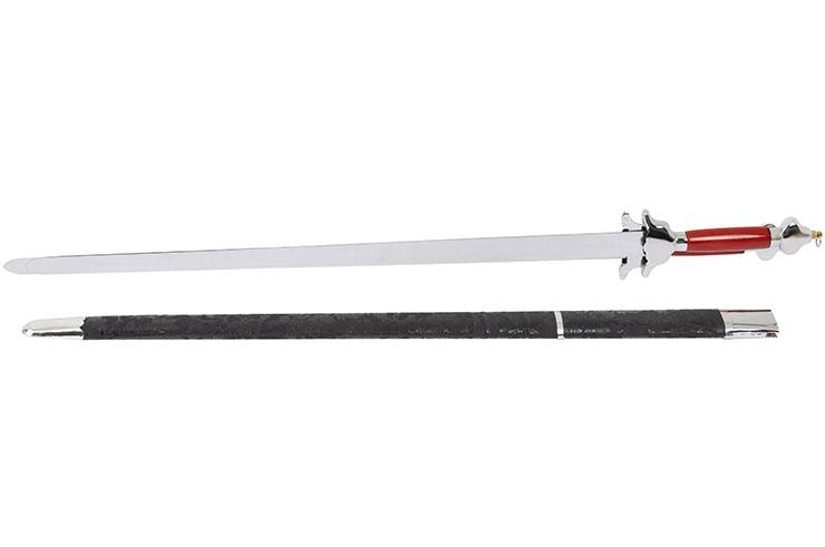 Double épée flexible avec fourreau