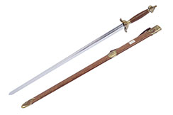 Tai Ji, Tai Chi «Qing Feng » Straightsword, Diamond Cross Section, Semi Flexible