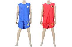 Chinese Sanda Boxing Uniform - Dragon, Hua Xin