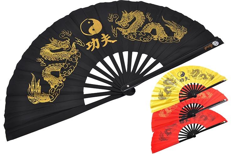 Abanico Tai Chi (Tai Ji Shan) - Doble Dragon