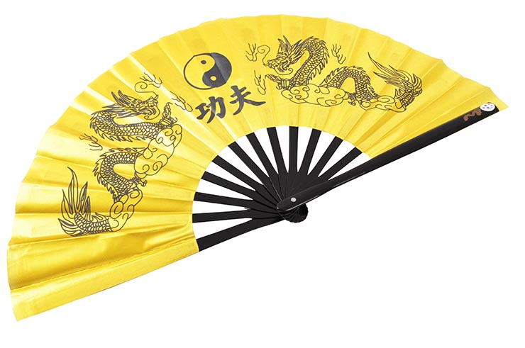 Éventail Tai Chi (Tai Ji Shan) - Double Dragon