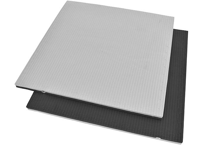 Tatami Rompecabeza Negro/Gris, 4cm