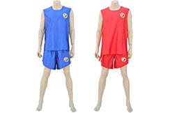 Chinese Boxing Sanda Uniform - Hua Xin