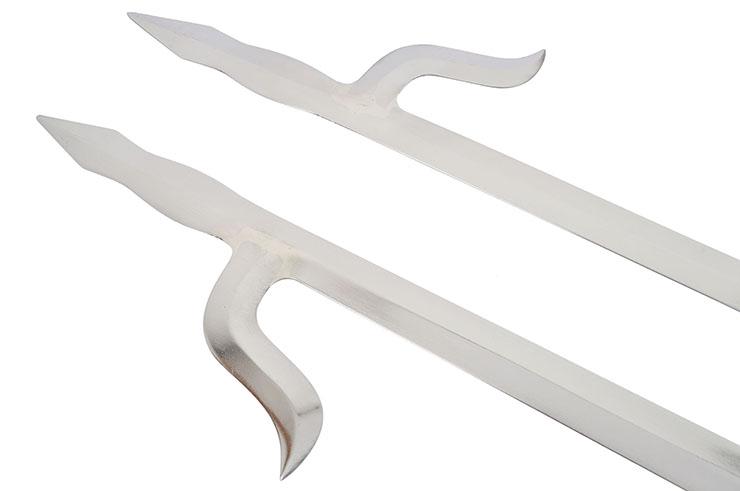 Espadas de doble gancho «Shuang Gou», Jian Wang, Tiger Claw Style