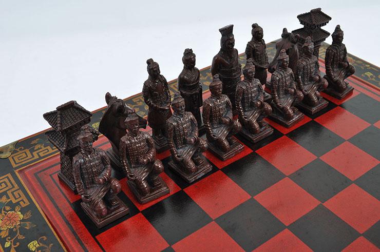 Chess Set, Chinese Design