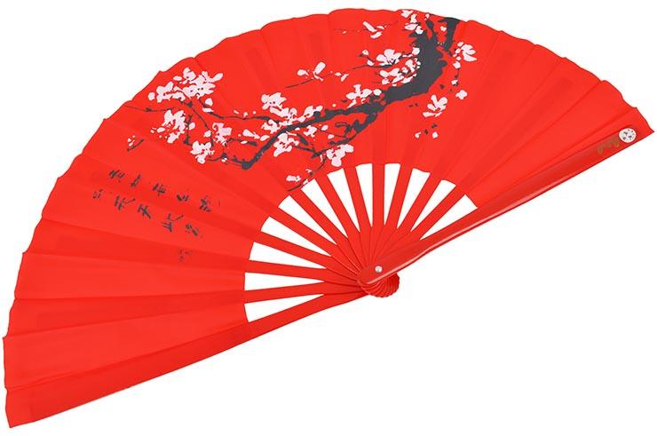 Éventail Tai Chi (Tai Ji Shan) - Prunier