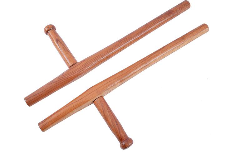 Tonfas Okinawa Wood - Round 60cm, Kwon